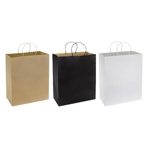 bolsa de papel con logo