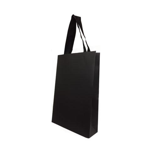bolsa de papel de lujo con logo personalizado